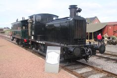 "Preserved WD 33 at ""Railways to Victory"" festival at the Stoomcentrum Maldegem in Belgium on 01-05-2015"