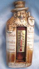 "Antique Whiskey Flask - ""DRINKOMETER"" Reg. # 2962 (Schafer & Vater 1910-1920)"