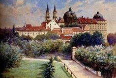 Landscape by Adolf Hitler