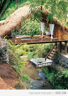 This is amazing. I would love to hide out here and relax