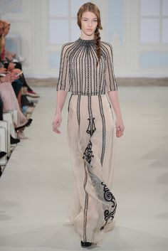 Temperley London Fall 2014 Ready-to-Wear Fashion Show - Dauphine McKee