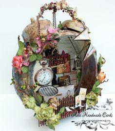 Aola Handmade Cards ...: Altered Alarm Clock
