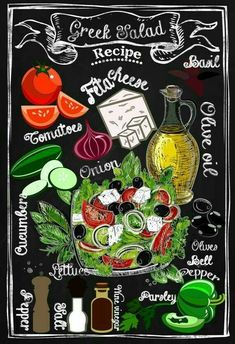 This piece of art features Chalkboard Kitchen Art is crafted for years of enjoyment. Life is Sweet. A custom made, unique Blackboard Art, Chalkboard Lettering, Chalkboard Designs, Chalk It Up, Chalk Art, Greek Salad Recipes, Kitchen Art, Kitchen Tools, Menu Restaurant