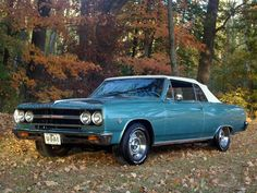 1965 malibu | Chevrolet Chevelle Malibu Convertible '1965