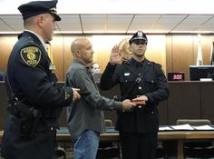 #GTPD #MediaAdvisory: Officers Being Promoted And Sworn In On Monday 1-12-2015, Details: http://gtpolice.com/?p=3310  #LESM