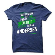 I'm not weird I'm I'm ANDERSEN T Shirts, Hoodies. Get it here ==► https://www.sunfrog.com/Faith/Im-not-weird-Im-Limited-Edition-Im-ANDERSEN-s.html?57074 $19