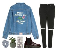 """Jemma"" by soym ❤ liked on Polyvore featuring Dr. Martens and Topshop"