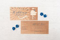 FARM FESTIVAL TICKET WEDDING INVITE Rustic, Festival ticket inspired wedding invites and stationery. Can be customised with your wording and colours. We can also create the below stationery to match this theme… Save the dates Invitations Inserts – Rsvp, info, … Continue reading →