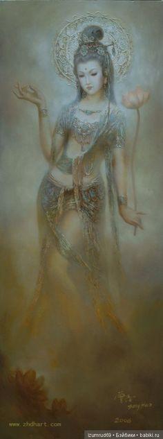 Bailando artista diosa Zeng Hao. / Fotos hermoso, tarjetas postales muñecas / Beybiki. Muñecas de fotos. Ropa para muñecas