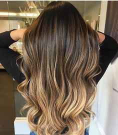 Are you going to balayage hair for the first time and know nothing about this technique? We've gathered everything you need to know about balayage, check! Brown Hair With Highlights, Brown Blonde Hair, Light Brown Hair, Brown Hair With Ombre, Brown With Blonde Balayage, Blondish Brown Hair, Long Hair Highlights, Black To Brown Ombre Hair, Honey Colored Hair
