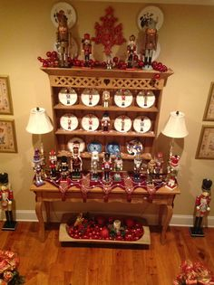 Nutcracker collection. Christmas 2013 Nancy Kirk