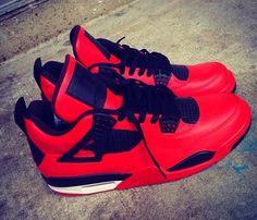 Air Jordan IV (4) 'Blood Sport' Custom