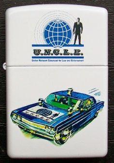 The Man From U.N.C.L.E. custom design Zippo