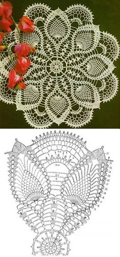 crochet lace pattern...<3 Deniz <3