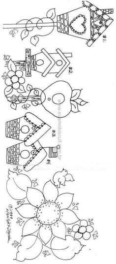 Embroidery Patterns Birds Table Runners 32 New Ideas