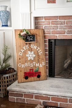 DIY Christmas Countdown with Dollar Store Supplies | DIY Wood Christmas Countdown Sign | DIY Christmas Countdown Sign with Dollar Store Supplies | DIY Christmas Red Truck Sign | DIY Christmas Porch Sign with Dollar Tree Supplies | How to Make a Wood Christmas Sign | DIY Dollar Tree Christmas Countdown Sign | How To Make a Wood Christmas Porch Sign | Cheap and Easy Christmas Decor | #TheNavagePatch #Christmas #DollarStore #DollarTree #WoodSign #DIY #EasyDIY #DIYChristmasDecor…