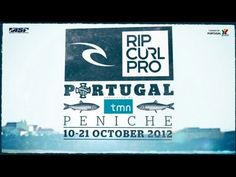 ‎Rip Curl Pro Portugal presented by TMN Event Teaser #1 - via Rip Curl | The quiet coastal fishing town of Peniche staked its claim as Europe's ultimate surfing destination during the 2011 Rip Curl Pro Portugal, with the infamous Supertubos cranking into action for three unforgettable days of perfect waves.This October the surfing world returns for the Rip Curl Pro 2012 Rip Curl Pro. October 10-21.