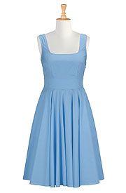 eshakti placid blue Valerie dress - Mine now!