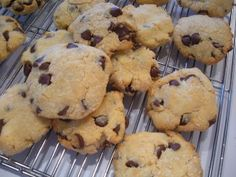 Gluten Free Coconut Flour  Chocolate Chip Cookies