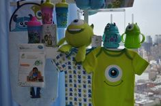 Monsters Inc Nursery, clothing and baby stuff #monstersuevent