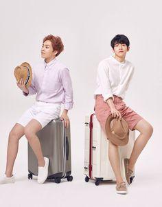 Xiumin e Baekhyun - EXO