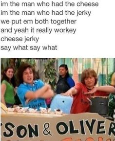 I always wanted to try cheese jerky!>>> My childhood was based on Hannah Montana, High School Musical & every diney movie ever<< is it sad that I sang the song in my head when I saw it, I don't think it is Icarly, Seinfeld, Full House, Gossip Girl, Spongebob, Old Disney Shows, Old Disney Channel, Zack E Cody, Zeina