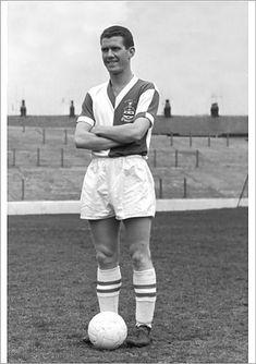 Ronnie Clayton of Blackburn Rovers in 1960.