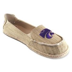 Campus Cruzerz Kansas State Wildcats Sparkle Cabo Slip-On Shoes - Women