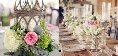 Centros de mesa para bodas 2015.¡Infinitas opciones!