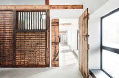 You wish you lived here... Old Horse Stables Become a Modern Home with Character in architecture  Category