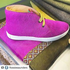 #Regram @flossiesaunders Admiring the wonderful Penelope Chilvers Jungle Pony Boots. We love them too, such great colours