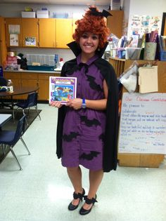 my halloween costume for school ms frizzle from the magic school bus series
