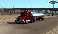 Trailer Polar Tanker Ownable for ATS Lego Truck, American Truck Simulator, Landing Gear, Marketing Jobs, Trucks, Transportation, Gaming, Videogames, Truck