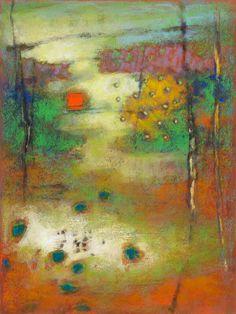 "89-13 Pastel on paper   16 x 12""   2012"