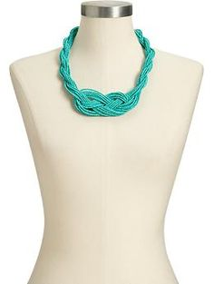 knotted multi-strand seed bead necklace - to make