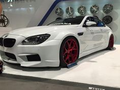 #‎BMWF13 ///M6 Coupe ROHANA Wheels