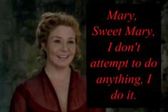 Queen Catherine (Megan Follows) from Reign on the CW - she is so evil!