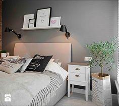 Riviera of blue - Średnia sypialnia małżeńska, styl minimalistyczny - zdjęcie od SHOKO.design