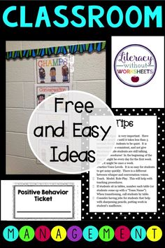 Perfect for back to school time! Start the school year off right.  Easy to implement ideas and procedures for the best school year!