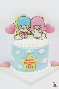 This year is Little Twin Stars' 40th anniversary! Happen to make this lovely cake