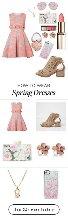 """""""Walk this way: Summer Booties"""" by stonedsirenprincess on Polyvore featuring Ashlyn'd, Too Faced Cosmetics, Oliver Peoples, Allurez, Casetify and MSGM"""
