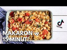Robię PYSZNY MAKARON z TikToka! 🍅 Mam tylko 15 minut!   Wyzwanie WegeTuba - YouTube Pasta Salad, Cereal, Recipies, Breakfast, Ethnic Recipes, Youtube, Food, Crab Pasta Salad, Recipes