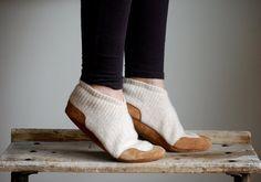 Women Slippers, Wool Slippers, women size 9.5, Snowy Outside on Etsy, $84.49 CAD