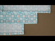 Hemming Corners- video tutorial from Professor Pincushion Easy Sewing Projects, Diy Craft Projects, Sewing Tutorials, Sewing Crafts, Sewing Patterns, Video Tutorials, Tutorial Sewing, Craft Ideas, Sewing Hems