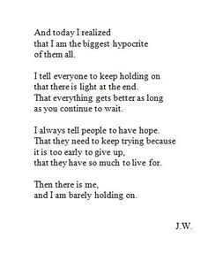 This is my life in a few lines.