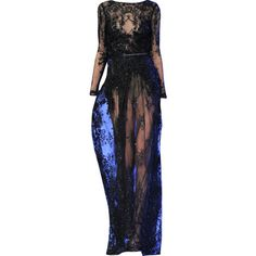 Elie Saab - edited by mlleemilee ❤ liked on Polyvore featuring dresses, gowns, long dresses, edits, elie saab evening gowns, elie saab, elie saab evening dresses and elie saab gowns