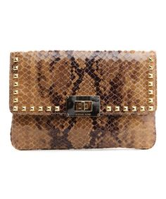 Another great find on #zulily! Sand Sloan Leather Clutch by MICHAEL Michael Kors #zulilyfinds