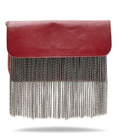 Another great find on #zulily! Wine Fringe Blite Crossbody Bag #zulilyfinds