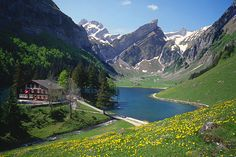 15 Insane Trips You Can Actually Afford  Where to stay? Berggasthaus Seealpsee ($66 for a double room/$44 for the dorm). Located on the alp, this chalet-style guesthouse has multiple sleeping options and is also a full-service restaurant serving regional dishes made with incredibly local ingredients. (Most everything that appears on your plate also appears out the window.)