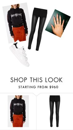 """Untitled #2638"" by oreabe ❤ liked on Polyvore featuring Vetements, Givenchy and adidas"